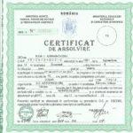 Certificat curatare hote